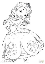 Sofia The First Colouring Sheets Trustbanksurinamecom