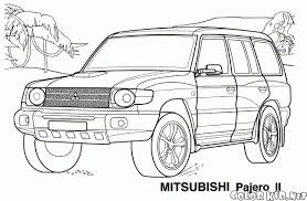 Land Rover Coloring Pages Fun Time