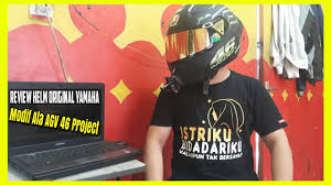 Check spelling or type a new query. Modifikasi Helm Vixion Ala 46 Project Ganteng Maximal Helmetlovers Youtube