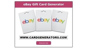 free ebay gift card generator generates the random ebay gift card codes that you can redeem on ebay sites to purchase free stuff no survey required ebay