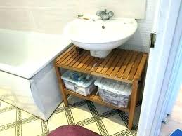bathroom pedestal sink storage cabinet pedestal sink storage ideas voteindiainfo pedestal sink storage solutions