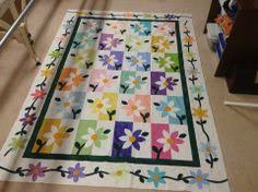 shadow daisy quilt pattern | Thread: Terry's Happy Daisy Quilt ... & shadow daisy quilt pattern | Thread: Terry's Happy Daisy Quilt...quilted by  Charisma |
