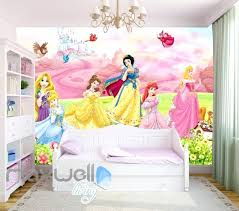 disney princess wall mural princess bird flower castle wallpaper wall murals art prints decals kids girls disney princess wall mural