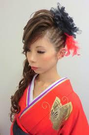 画像 最旬成人式卒業式和装髪型ヘアスタイルギャラリー