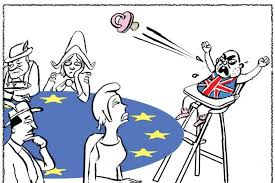 Image result for Brexit cartoons from abroad
