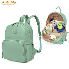 2019 pu leather baby bag organizer tote diaper bags mom backpack mother bags diaper backpack large nappy bag from breenca 62 76 dhgate com