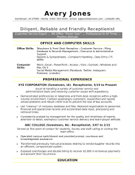 Tutor Job Description Resume Best Of Receptionist Resume Sample
