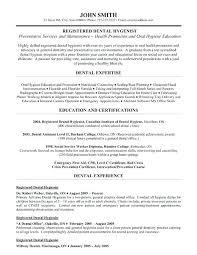 Dental Assistant Resume Example Registered Dental Hygienist Resume