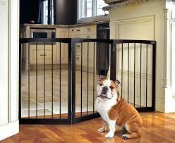 expanding pet gate standing wooden fashionable gates