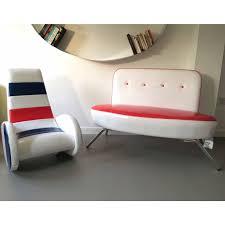 retro kids furniture. funky retro modern design american style sofa chaise playroom kids furniture e