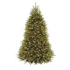 National Tree Company 7.5 ft. Dunhill Fir Artificial Christmas Tree with  750 Clear Lights