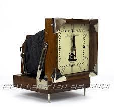 vintage wooden maritime desk clock home or office decor