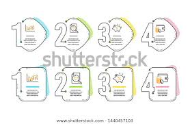 Analytics Chart Financial Diagram Loan Percent Stock Vector