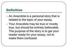 anecdote essay dangers on the road essay writing prompts for anecdote essay