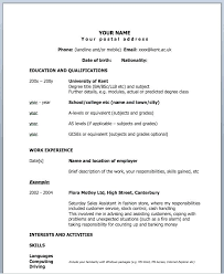 1 Page Resume Example Amazing Resume Template One Page Resume Examples Sample Resume Template