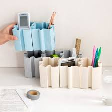 Diy office supplies Rubber Band Gun Diy Stationery Holders Organizer Table Office Supplies Storage Boxes Cute Glasses Holder Storage Containers Joy Corner Aliexpress Diy Stationery Holders Organizer Table Office Supplies Storage Boxes