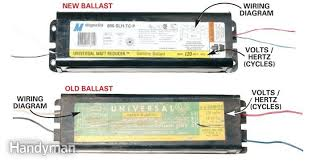 wiring diagram for t8 ballast the wiring diagram with fluorescent Electrical Ballast Wiring Diagram how to replace a fluorescent light ballast for wiring diagram for fluorescent ballast wiring diagram