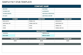 Free Pay Stub Template Excel Canadian Payroll Templates Brrand Co