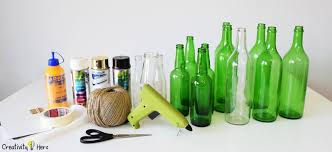 diy glass bottle home decor 3 simple