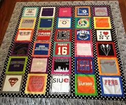 Best 25+ Shirt quilts ideas on Pinterest | Shirt quilt, Memory ... & t shirt quilt: I like the border between each shirt. It helps if the Adamdwight.com