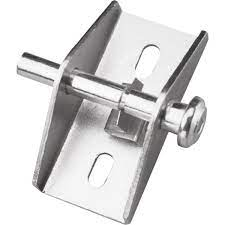 prime line aluminum finish push pull