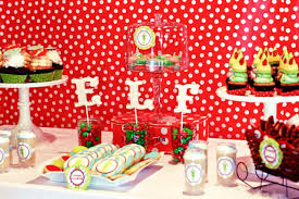 Buddy the Elf Themed Brunch Party by Deliciously Darling Events!