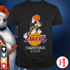 Browse majestic's lakers nba finals store for the latest lakers champs shirts, hats, hoodies and more champs gear men, women, and kids from majestic! Los Angeles Lakers Champions 2020 Mickey Mouse Love If Shirt Hoodie Ladies Tee Sweater And V Neck T Shirt