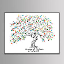 Baby Shower Tree Image Collections  Baby Shower IdeasFingerprint Baby Shower Tree