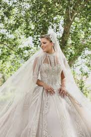 Beaded Designer Wedding Gowns Elie Saab Designed The Most Beautiful Wedding Dress For His