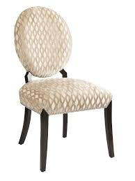 century city side chair nbsp shown with tight seat and back ay finish silver nailhead