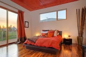 Orange And Black Bedroom Impressive Orange Wood Floor Room Bedroom Aprar