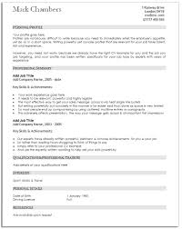 Traditional Resume Template Free Classy Traditional Cv Template Yun48co Traditional Resume Template Free