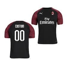 Jersey Milan Third Custom Black Ac bcfeefdcdacdc THE Daily DIVE On NFL Soccer