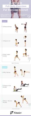 kettle bell full body exercises fat burning circuit