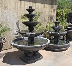 spheres fountain montreaux 3 tier