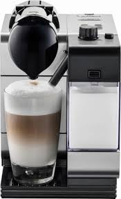 DeLonghi - Nespresso Lattissima Plus Espresso Maker - Silver - Angle_Zoom