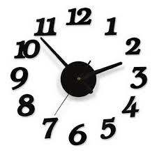 3d wall clocks modern design diy