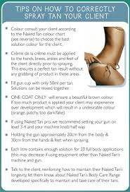 Fake Tan Colour Chart Tan Tip Tuesday Beauty Salons Follow These Simple Steps To