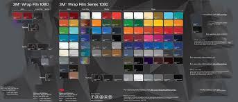 Vinyl Wrap Color Chart Car Wrap Colour Chart Choice Vehicle Wraps