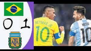 ملخص وأهداف مباراه الأرجنتين والبرازيل احتفالات الأرجنتين بالكأس #مباراه  قويه - YouTube