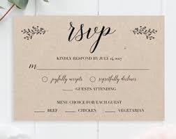 response cards template gold wedding rsvp cards faux gold foil wedding rsvp template etsy