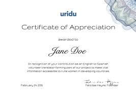 Volunteer Certificates Can I Get A Certificate For My Volunteering Uridu