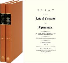 essay upon the law of contracts and agreements vols john  essay upon the law of contracts and agreements 2 vols