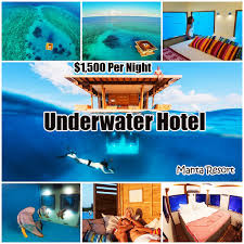 underwater hotel room at night. Dare You Stay Inside This Underwater Hotel Room Floats In The Middle Of Ocean. Is Situated At Manta Resort On Tanzania\u0027s Pemba Night