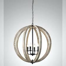 vineyard orb 4 light chandelier wooden globe chandelier y decor 4 light wooden orb chandelier in