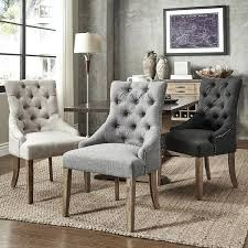 various gray tufted dining chairs gray tufted dining chair vanity great best dining room chairs ideas