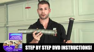 garage door nationHow To Replace Garage Door Spring  YouTube