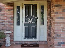 Unique Home Designs Security Doors Also With A Safety Door Design
