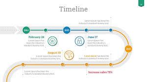 Timeline Slide Template Timeline Google Slides Template Google Timeline