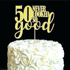 Cake Decorating Ideas For 50th Birthday Birthday Cake Ideas 50th